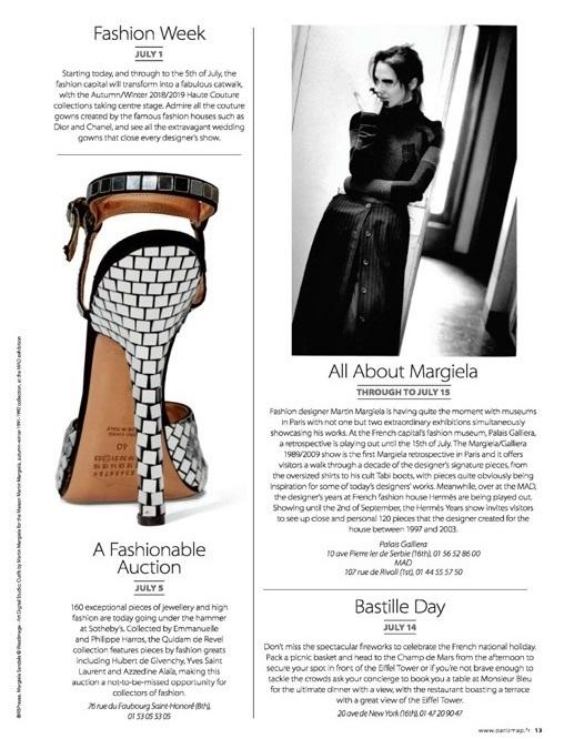 """WHERE Paris - """"A Fashionable Auction"""" - Quidam de Revel chez Sotheby's (2018)"""