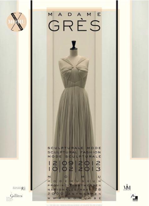 "MoMu - Madame Grès ""Mode sculpturale"" (2012/2013)"
