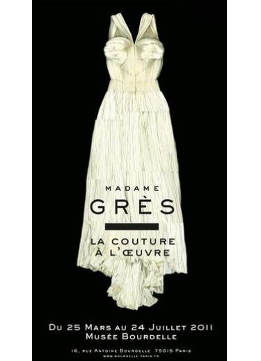"""Palais Galliera hors de murs / Musée Bourdelle - Madame Grès """"La couture à l'oeuvre"""" (2011)"""